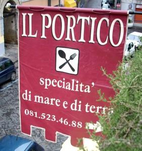 Ristoclub Il Portico -  Via Roma, 174 80070 Bacoli, Italy 081 523 4688