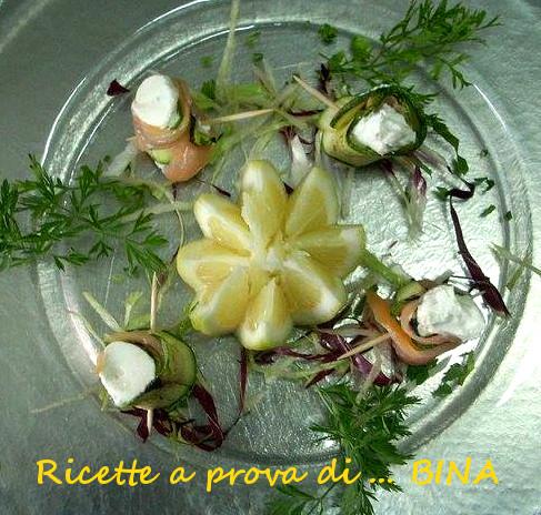 Involtini di salmone affumicato - ricetta finger food