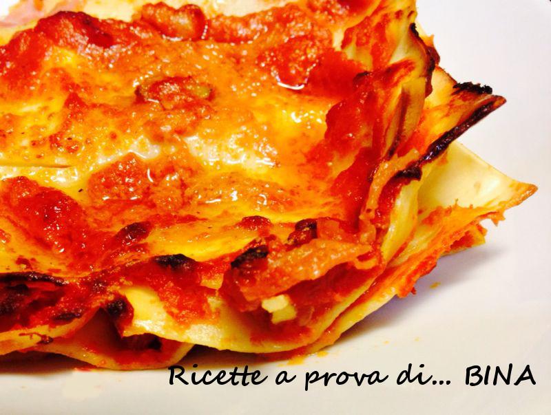 Lasagne alla valdostana - ricetta primo piatto ricco