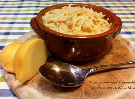 Pasta cavolfiore e provola – ricetta primo piatto
