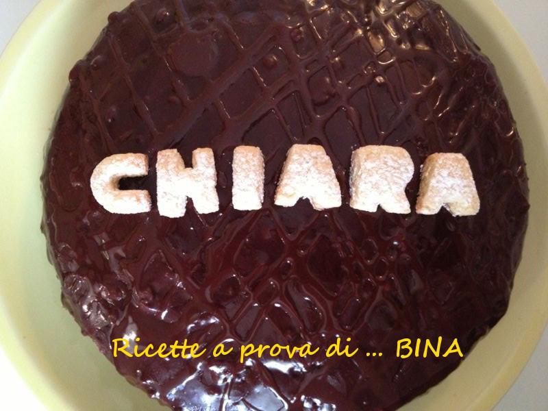 torta al cioccolato con glassa - ricette a prova di Bina