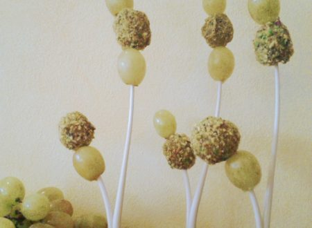 Uva zola e pistacchi – ricetta finger food