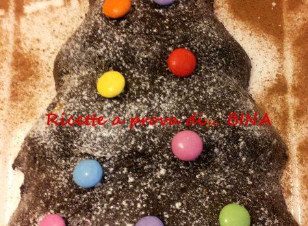 Albero di cioccolato – ricetta senza cottura