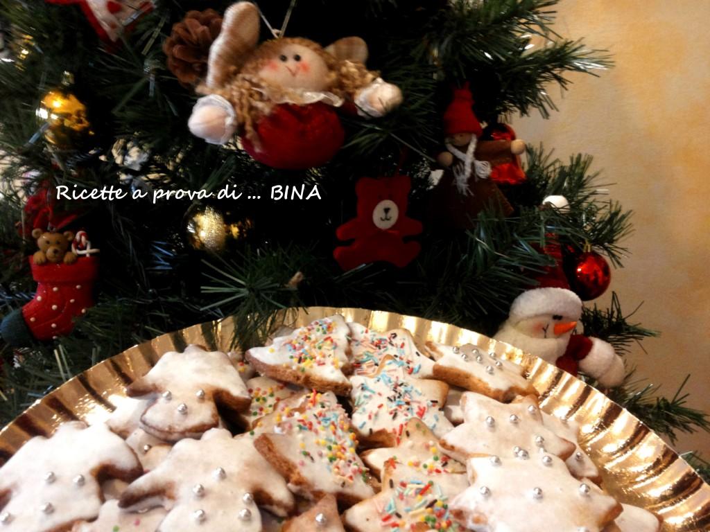 Biscotti cannella e zenzero con glassa