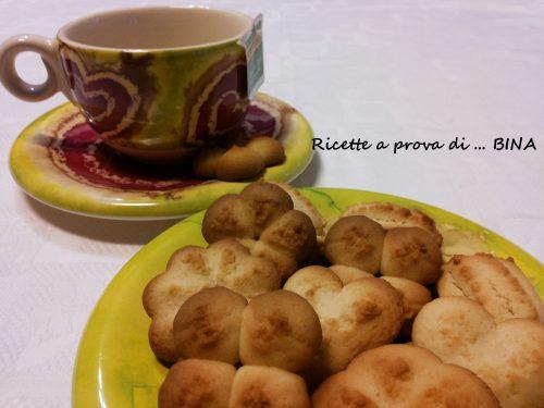 Biscotti con farina di riso – tipo krumiri
