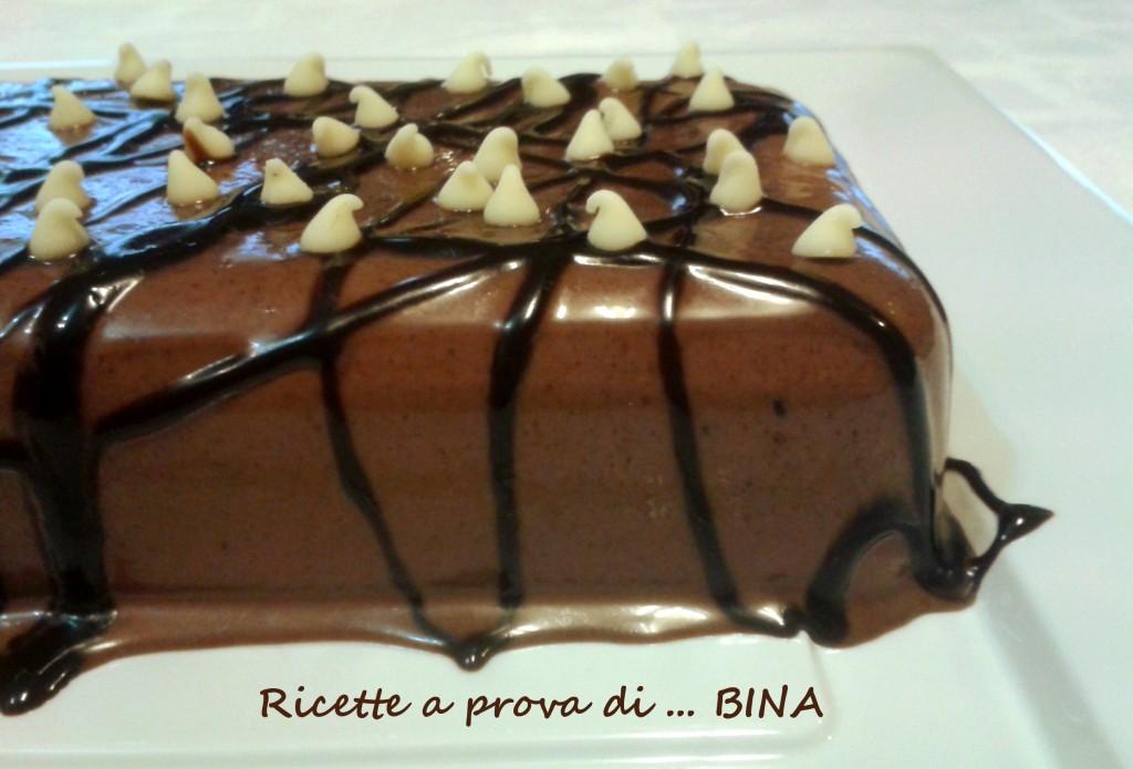 Panna cotta al cioccolato - ricetta veloce e semplice