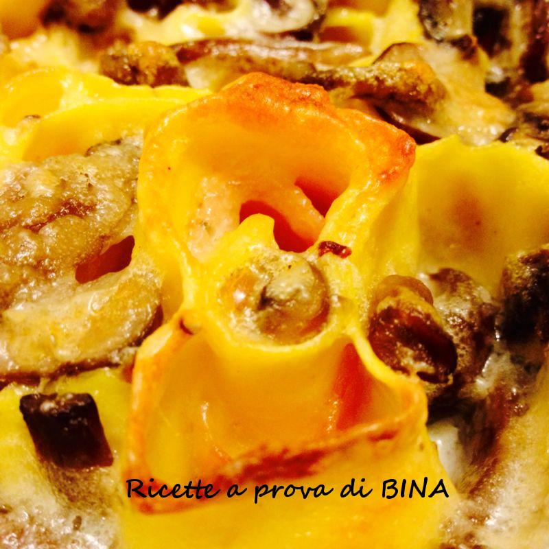 roselline di pasta al forno - ricetta primo piatto monoporzione