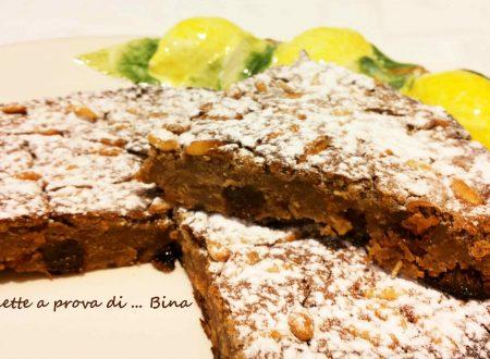 Castagnaccio ricetta dolce