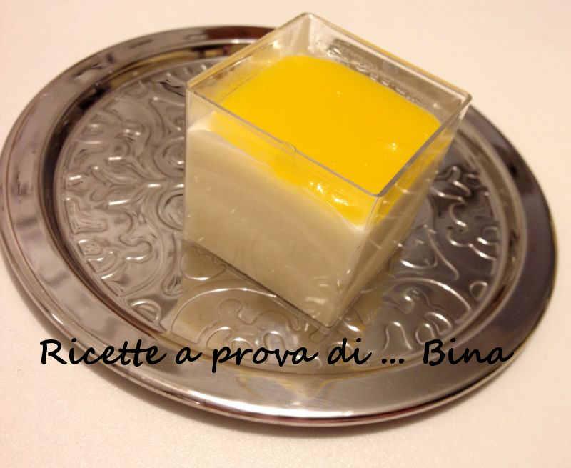 cheesecake all'arancia monoporzione