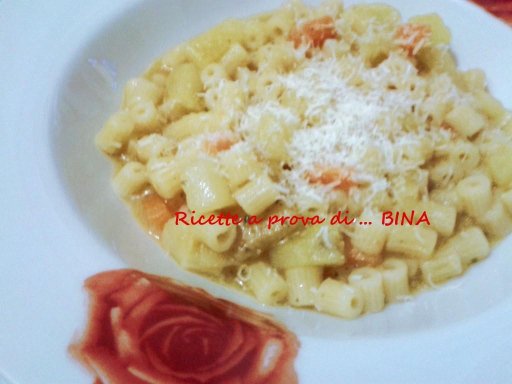 Pasta e patate - ricetta primo piatto