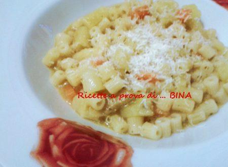 Pasta e patate – ricetta primo piatto