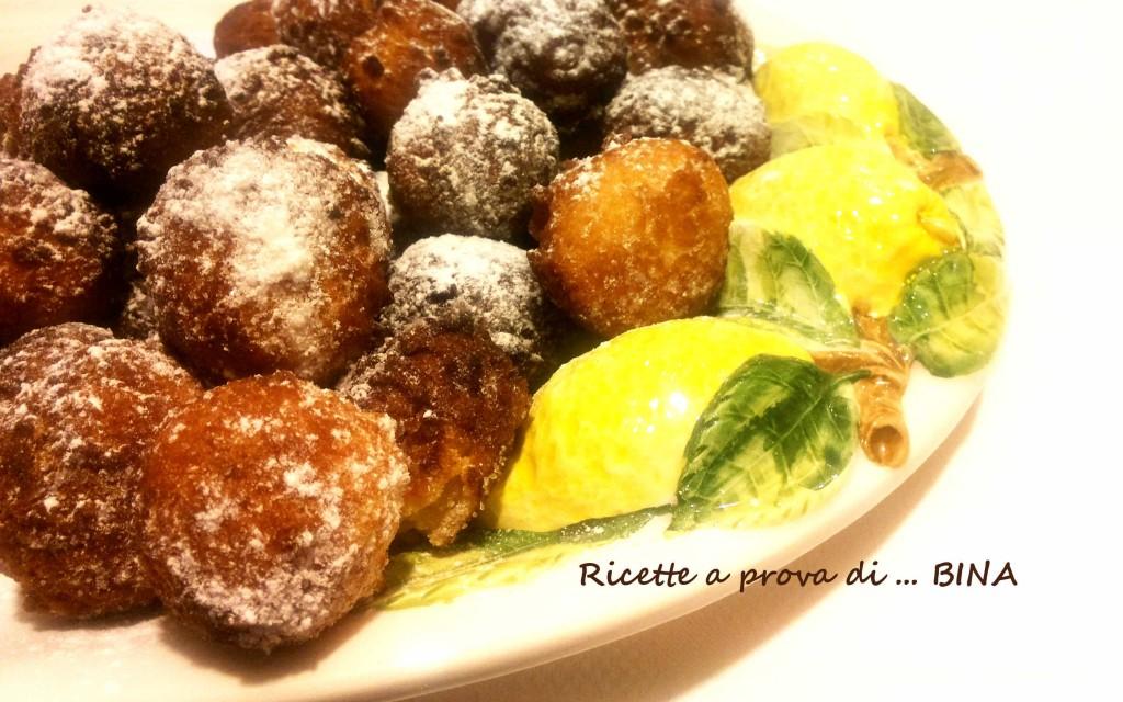 Castagnole di ricotta al profumo di limone - Dolce di carnevale