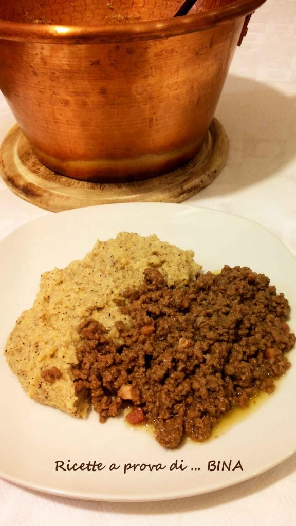 Polenta e bruscitt - ricetta lombarda