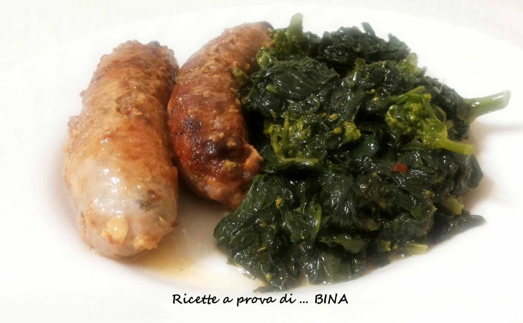 salsiccia e friarielli - ricetta napoletana