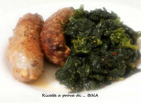 Salsiccia e friarielli – ricetta napoletana