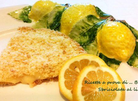 Sbriciolata al limone