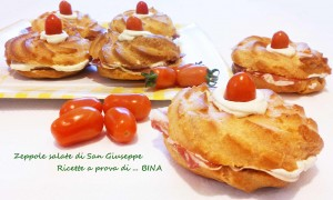 Zeppole salate di San Giuseppe