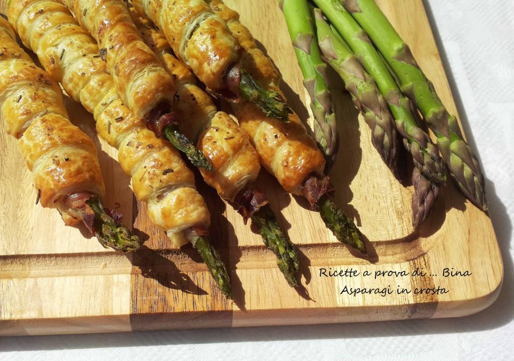 Asparagi in crosta ricetta finger food