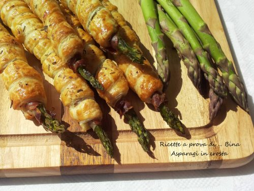 Asparagi in crosta ricetta finger food