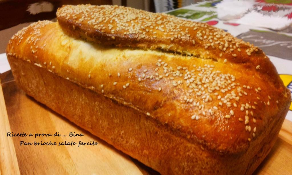 Pan brioche salato farcito - ricetta semplice