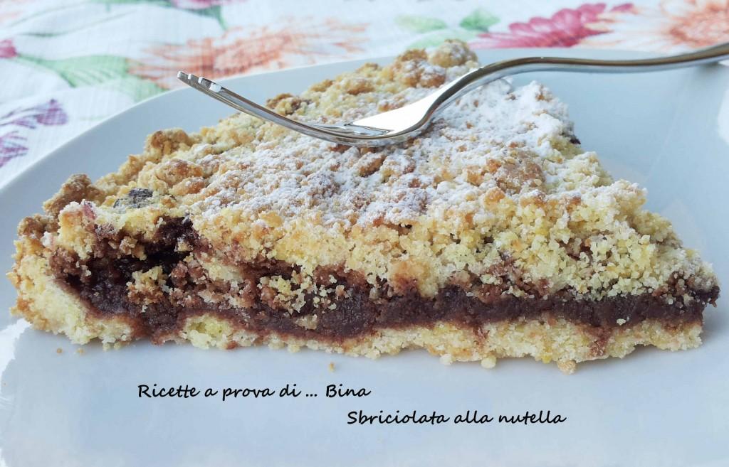 Torta sbriciolata al cioccolato - ricetta torta semplice