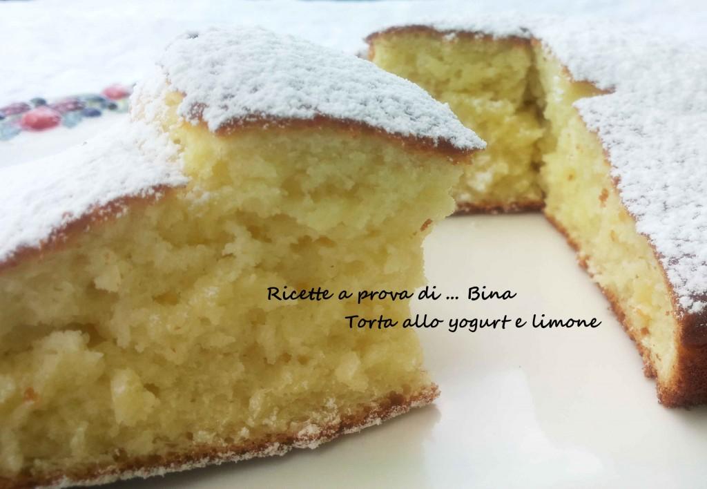Torta allo yogurt e limone - ricetta torta semplice