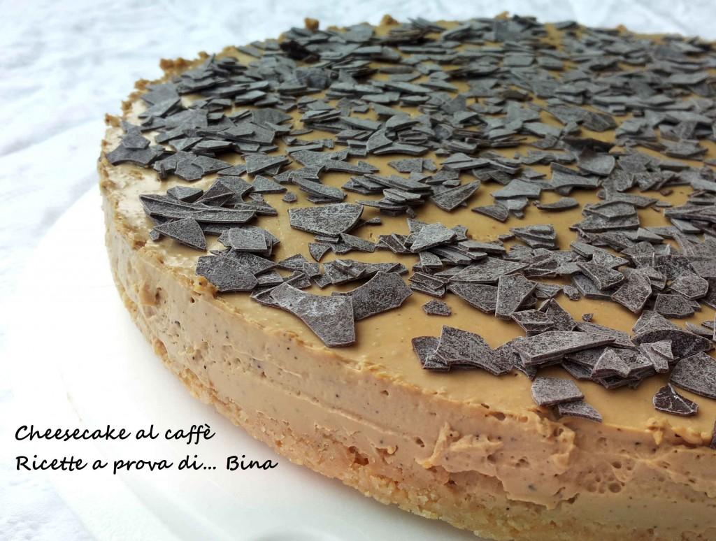 Cheesecake al caffè - ricetta senza cottura