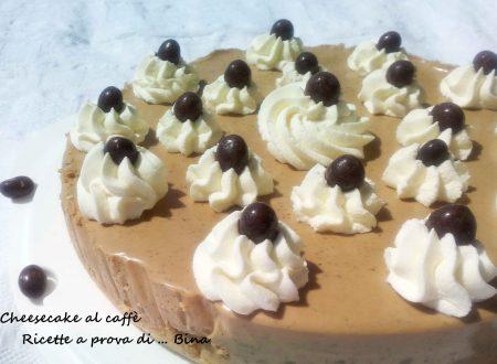 Cheesecake al caffè ricetta senza cottura