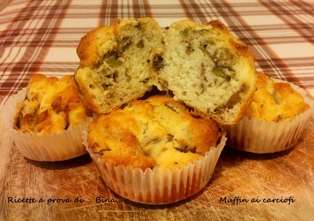 Muffin ai carciofi - Ricetta semplice