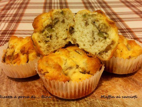 Muffin ai carciofi