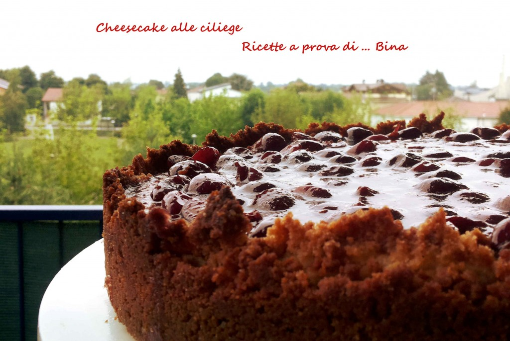 Cheesecake alle ciliegie - ricetta semplice con cottura
