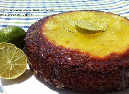 Torta alla marmellata di limoni e lime