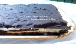 Torta Kinder Pinguì - ricetta casalinga