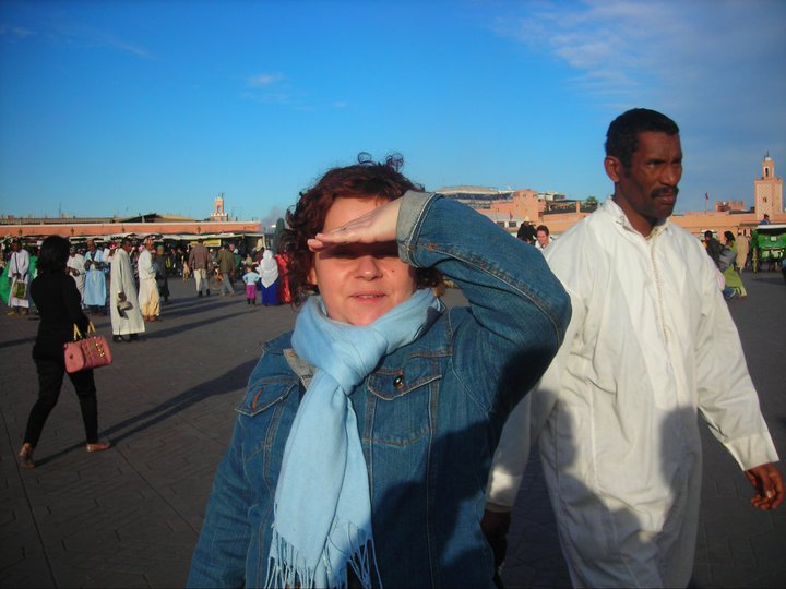 Marrakech, piazza Djemaa el Fna