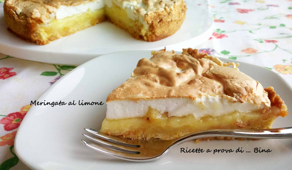 meringata al limone - ricetta semplice