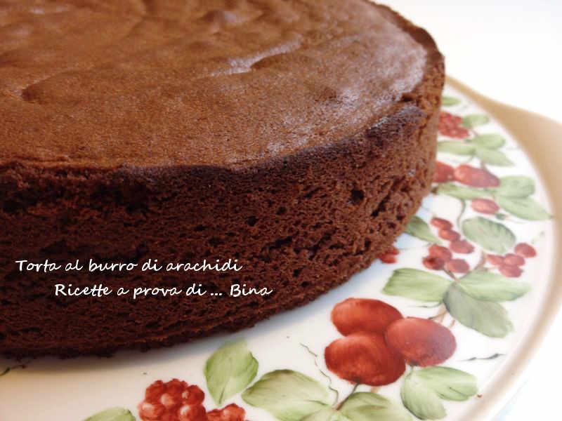Torta al burro di arachidi - Peanut butter cake