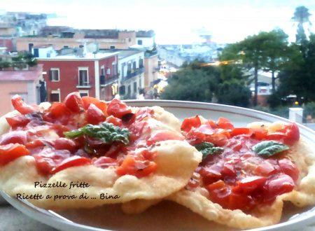 Pizzelle fritte al pomodoro