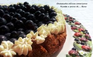 Cheesecake all'uva americana - ricetta dolce con cottura
