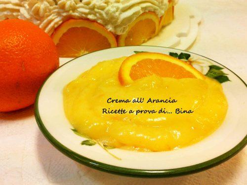 Crema all' arancia