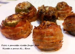 Fichi e pancetta ricetta finger food - Ricette a prova di... Bina