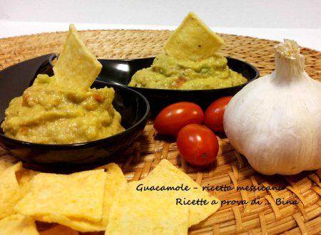 Guacamole ricetta salsa messicana