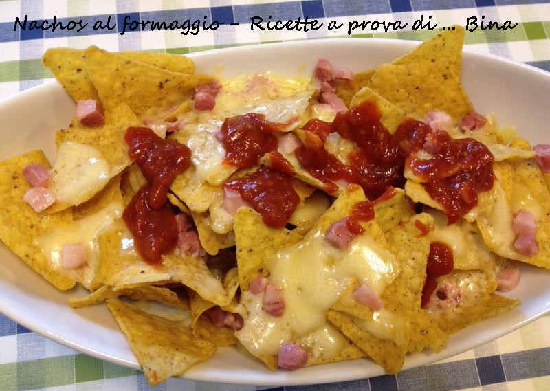 Nachos al formaggio ricetta tex mex