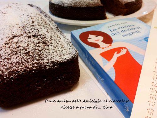 Pane Amish dell Amicizia al cioccolato