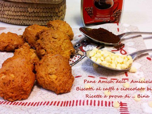 Pane Amish dell Amicizia Biscotti al caffe'