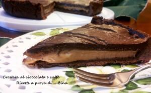 Crostata al cioccolato e caffè - ricetta torta golosa