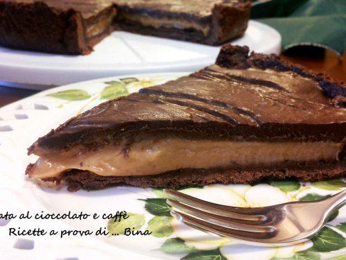 Crostata al cioccolato e caffe'