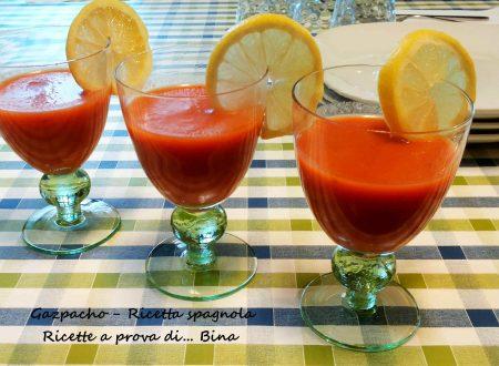 Gazpacho ricetta spagnola