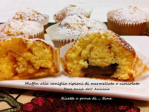 Pane Amish dell Amicizia Muffin alla vaniglia