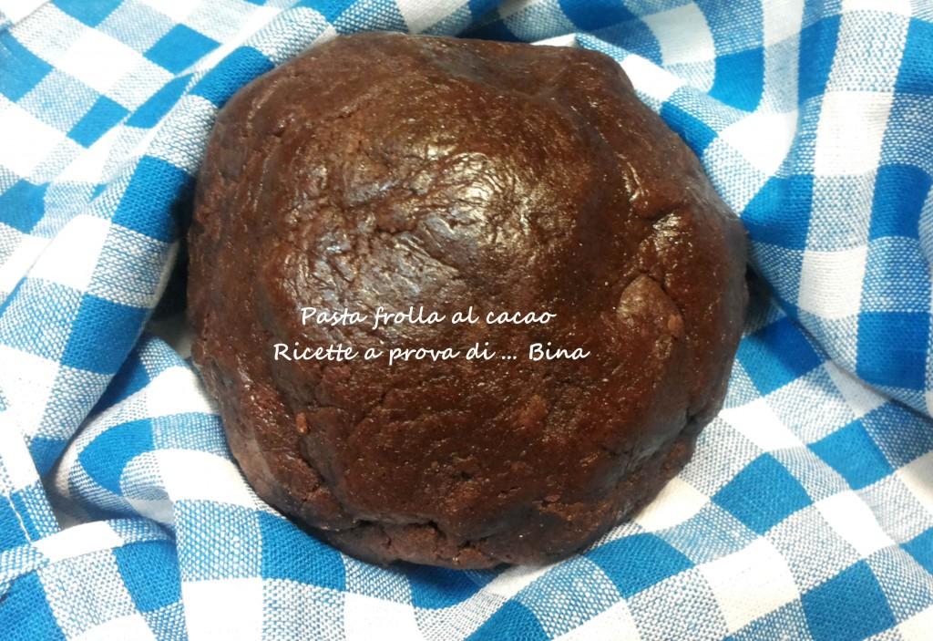 Pasta frolla al cacao ricetta semplice