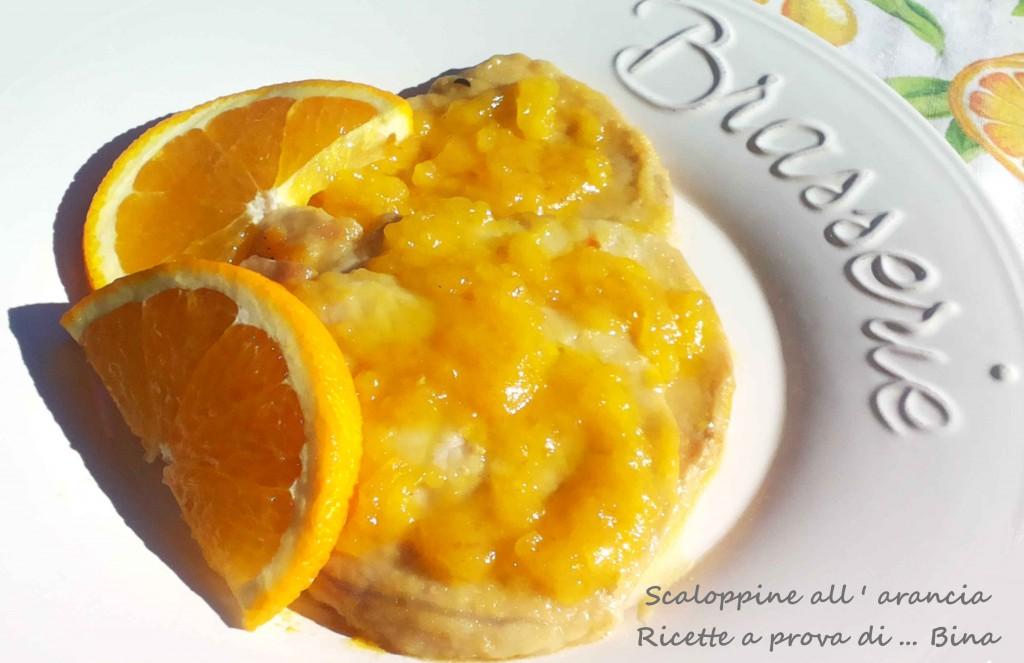 Scaloppine all ' arancia Ricette a prova di ... Bina